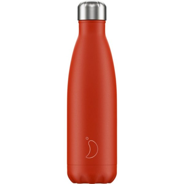 Chilly's bottle 500ml rosso neon