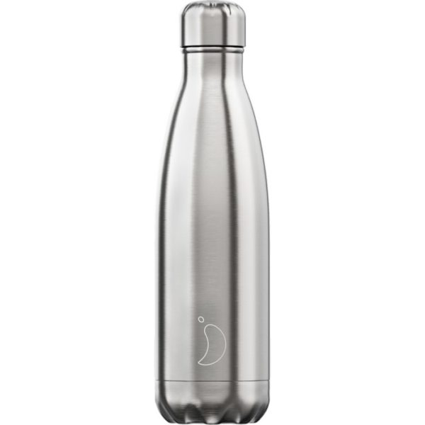 Chilly's bottle 500ml acciaio inossidabile satinato