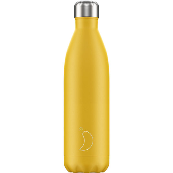 Chilly's bottle 750ml giallo opaco