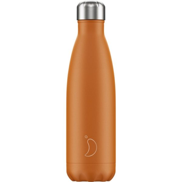 Chilly's bottle 500ml arancio opaco