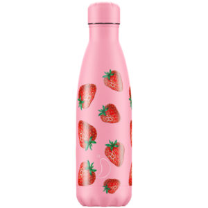 Chilly's bottle 500ml newicon strawberry