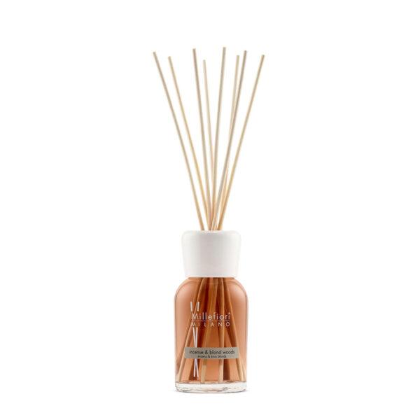 incense & blond woods diffusore bastoncino 250ml millefiori